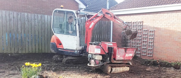 Mini Digger Hire Beverley